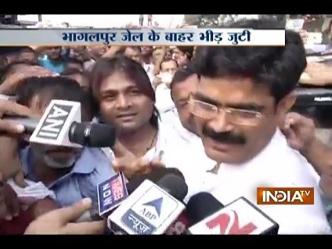 Siwan Bahubali Mohammad Shahabuddin Released from Jail, Praises Lalu Yadav