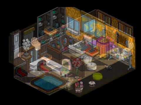 Casa habbo moderna youtube for Casa moderna haddoz