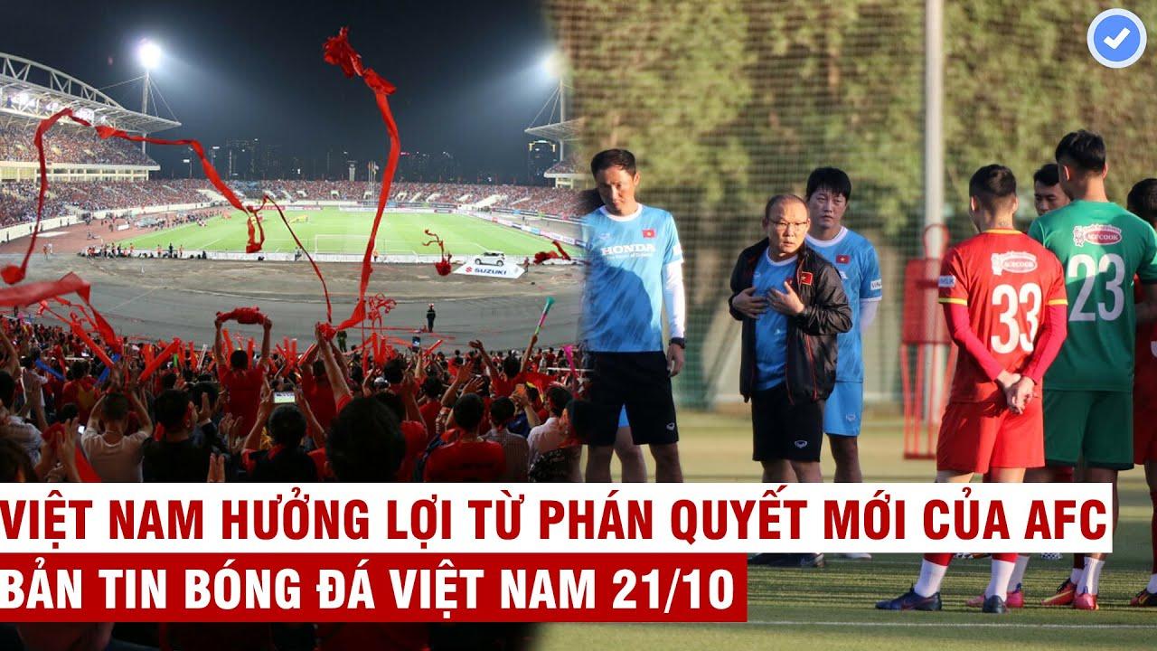 VN Sports 21/10   Hà Nội ko cho khán giả vào Mỹ Đình - VFF báo cáo Thủ tướng, chốt danh sách U23 VN