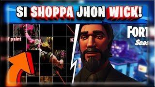 SKIN JHON WICK NELLO SHOP!? + SVELATO IL PUZZLE DEI FORTBYTE! (FORTNITE STAGIONE 9)