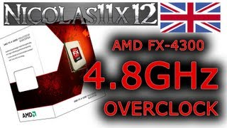 AMD FX-4300 4.8GHz Overclock Review