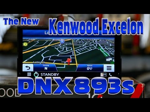 Kenwood Excelon's new 2016 DNX893s multimedia navigation radio