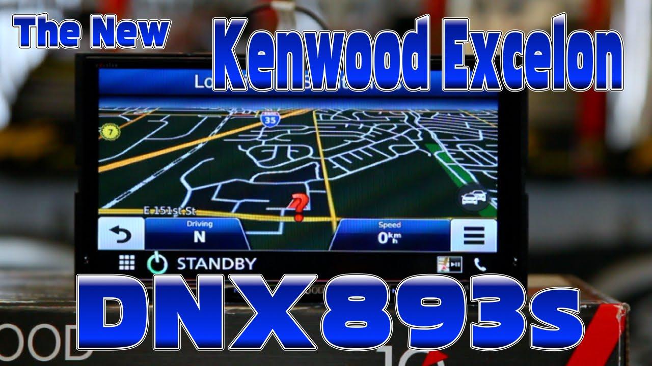 Kenwood Excelon's new 2016 DNX893s multimedia navigation radio