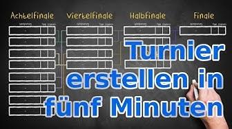 Dein Turnier planen in fünf Minuten - MeinTurnierplan.de