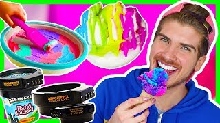 TESTING CRAZY ICE CREAM GADGETS!