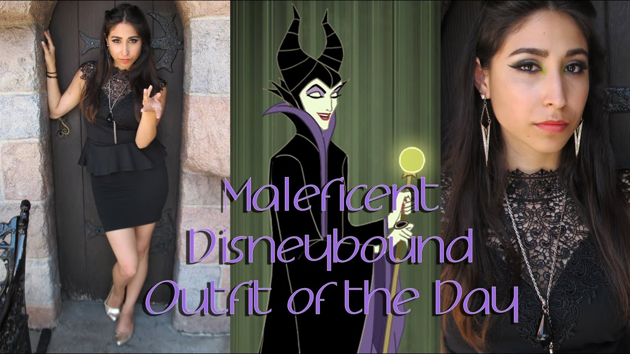Maleficent Disneybound Outfit Of The Day