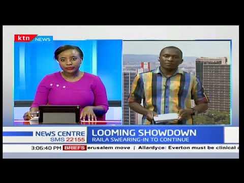 Plans underway to swear in Raila Odinga on December 12