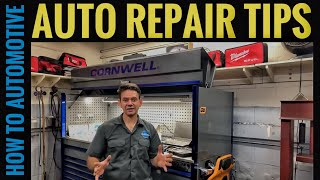 Automotive Repair Tips to Save You Time and Make You Money
