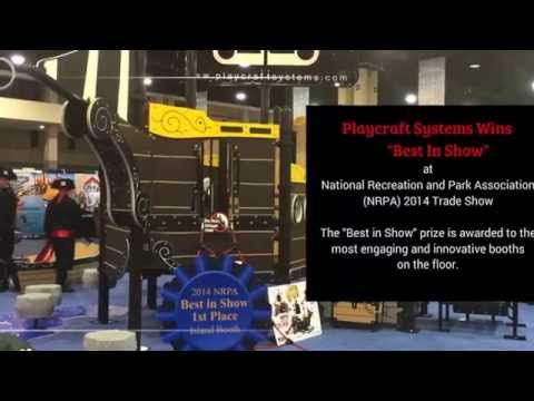 Commercial Playground Equipment by Playcraft Systems Wins Prize