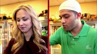 Muslim man steals money from deli tip jar [TIP JAR PART 2] | What Would You Do?