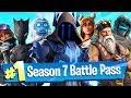 Download Fortnite Season 7 Battle Pass Unlocked (New Vehicle / Weapon WRAPS)