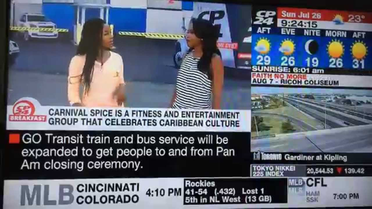 Carnival Spice LIVE on CP24 Breakfast - YouTube