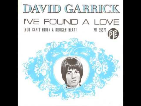 David Garrick - I've Found A Love