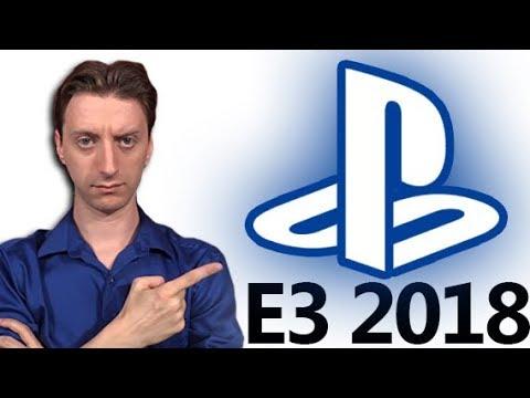 Grading Sony's Press Conference E3 2018 - ProJared