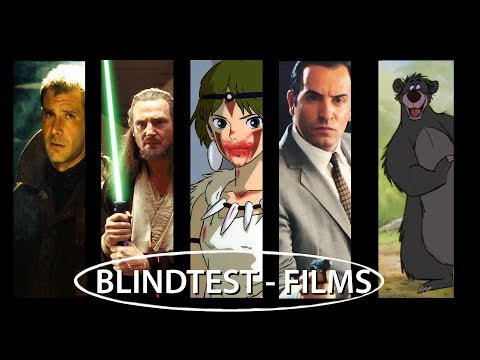 Blind Test : Musiques de Films (50 extraits)