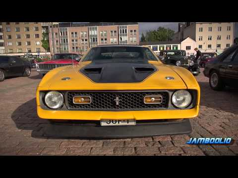 American V8 Muscle Cars - Sights and Sounds! VOL. 5