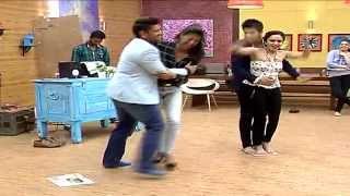 Himanshu Amruta and Rohit  Aishwarya takes up PAPER DANCE challenge NACH BALIYE