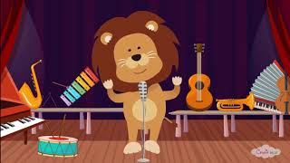 Μαθαίνω Τα Μουσικά Όργανα -  Παιδικό Τραγουδάκι  -Greek Nursery Rhymes