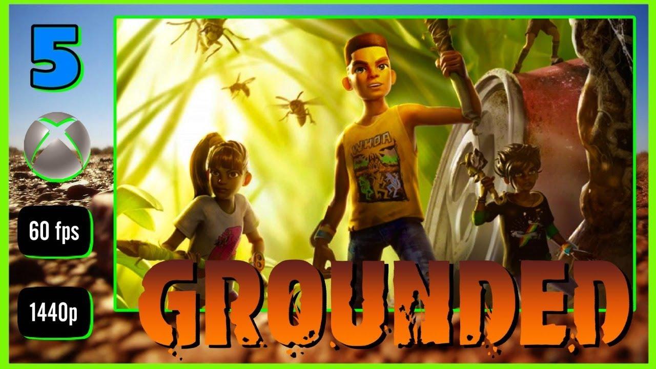 GROUNDED #5 DIRECTO Gameplay Modo Difícil - Armadura Abeja y Armas nivel 2 [ Xbox One X 1440p ]