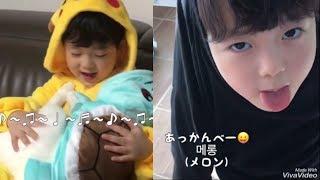 韓国の可愛い男の子 パパとギヨンくんの関係 日本語字幕