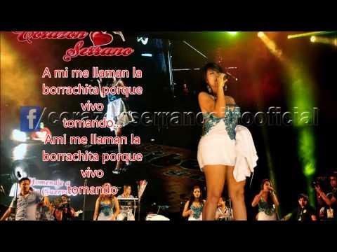 Corazon Serrano- La Borrachita (Letra)