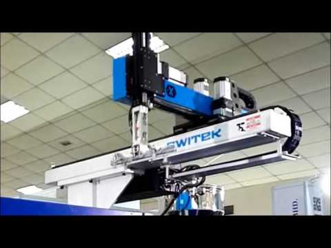 Robots For Injection Molding Machine In The Application Of Cutlery On Malaysia Plastic Show