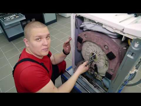 Замена подшипников в стиральной машине занусси своими руками видео