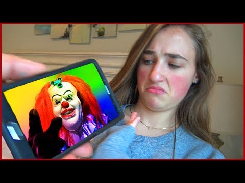 Thumbnail: Scary Killer Clown Answers Our Phone Call Then Sends us Creepy Videos Texts