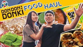 Massive Don Don Donki Food Haul | Eatbook Vlogs | EP 59