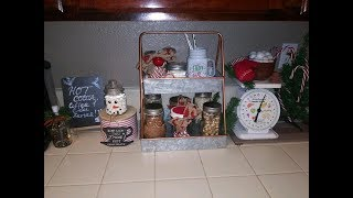 FARMHOUSE HOT COCOA / COFFEE BAR - DAY 10 OF THE 12 DAYS OF CHRISTMAS