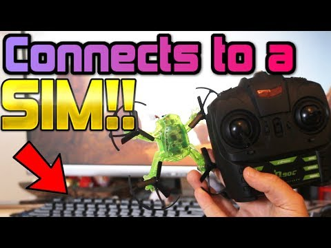 PERFECT beginner Drone Training kit + DRONE = Eachine q90c review