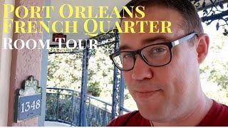 Port Orleans French Quarter Refurbished Room Tour