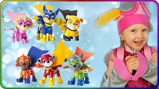 Тома и игрушки щенячий патруль Супергерои щенки в масках и плащах! Видео для детей