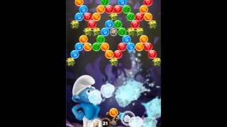 Smurfs Bubble Story Level 99 - NO BOOSTERS