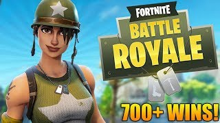 Fortnite Battle Royale: EPIC NEW MAP UPDATE! - 700+ Wins - Level 90+ - Fortnite Gameplay - (PS4 Pro)