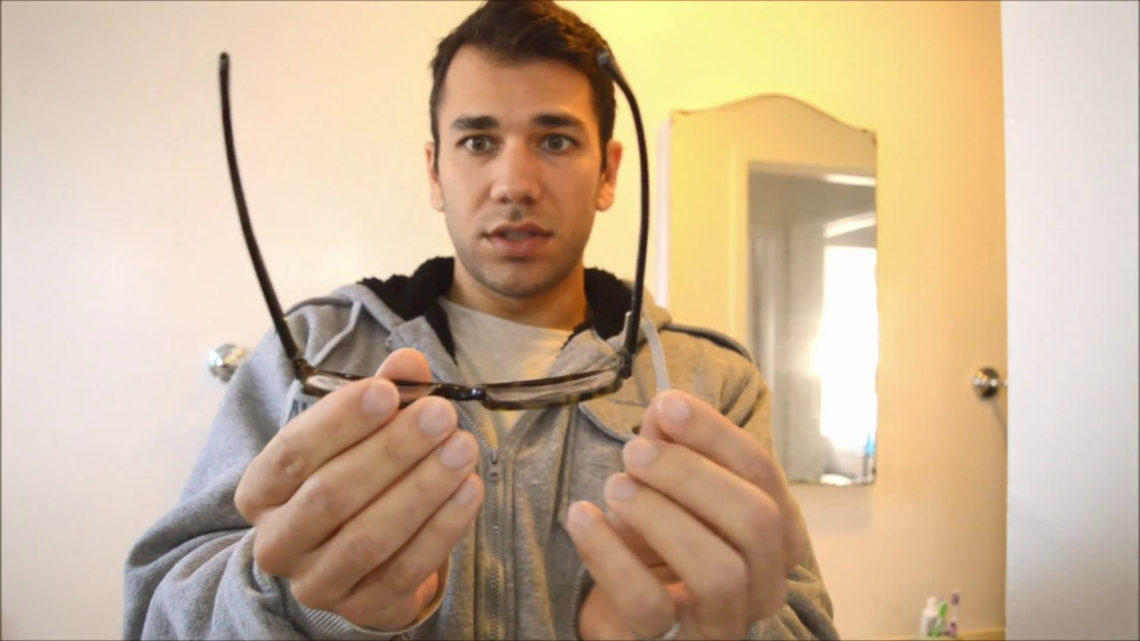 Glasses Frame Bent How To Fix : How to fix bent eye glasses - YouTube