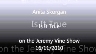 "Anita Skorgan singing ""Is It True"" on the Jeremy Vine Show - BBC Radio 2 on 16/11/2010"