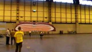 Paramania Fusion indoors 0 nil wind forward launch NEC