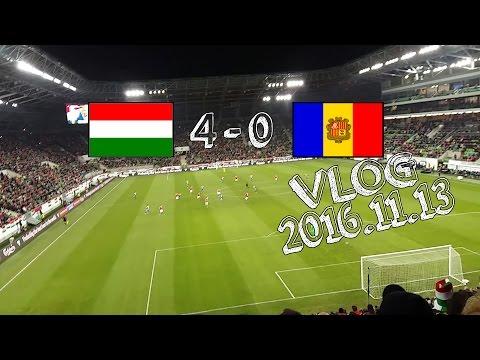 VLOG || Magyarország - Andorra (2016.11.13.)