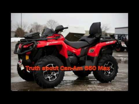 Truth about Can Am Outlander 650 Max