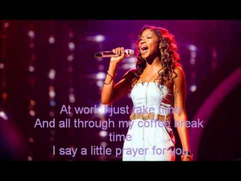 Amber Holcomb-I Say a Little Prayer-American Idol 12[Lyrics]