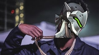 What if Genji did the background sounds in Panda?