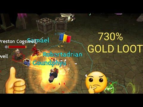 Arcane Legends 730% Gold Loot (ESG)
