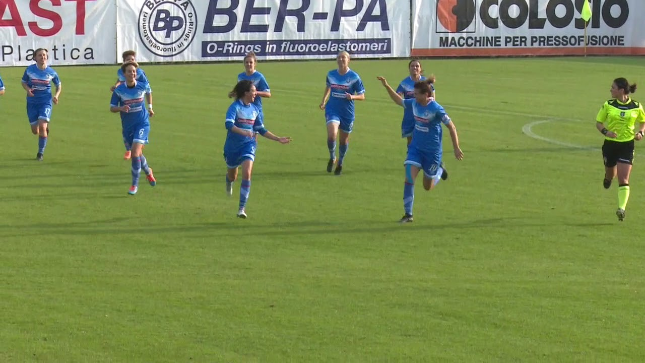 Brescia CF-Ravenna Woman gol e highlights (11-11-2017)