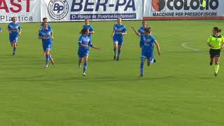 Brescia CF-Ravenna Woman gol e highlights (11-11-2017)