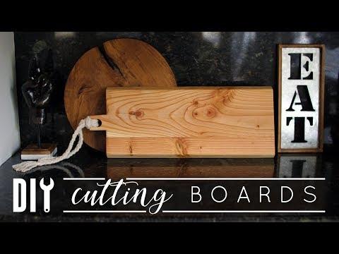 Easy DIY Cutting Boards