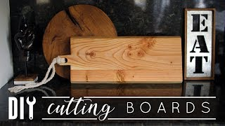 Easy DIY Cutting Boards