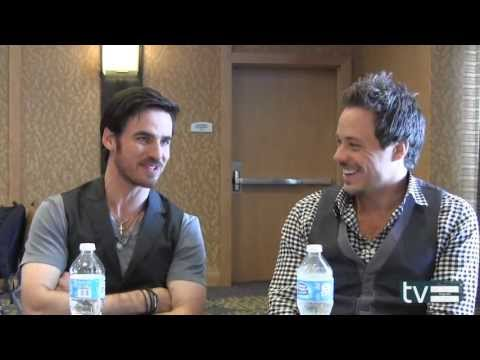 Once Upon a Time Season 3: Colin O'Donoghue and Michael RaymondJames