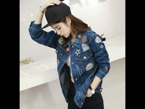 20 Kiểu áo Khoác Jean Nữ đẹp Và Hot Nhất Hiện Nay