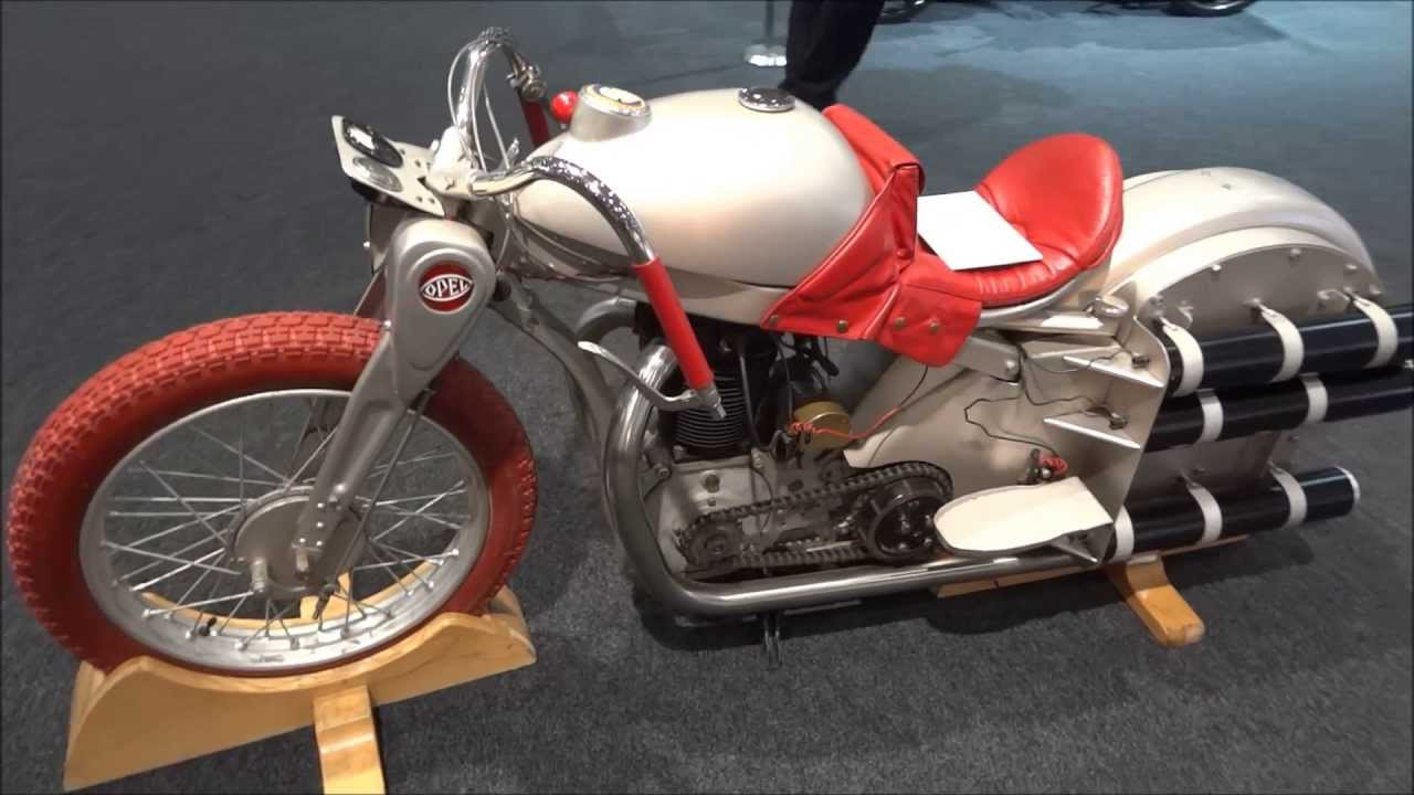 Opel Motoclub 500 Rocket Motorcycle Youtube